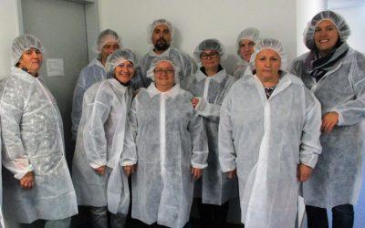 Bildungstag der Lahrer Werkstatt – Besichtigung Firma Carecos