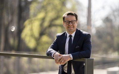 Oberbürgermeister Steffens zum Austausch bei der Reha Offenburg