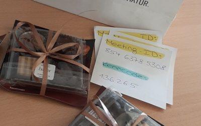 Digitale Schokoladenverkostung