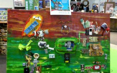 Ausstellung 'Mach was aus Müll'